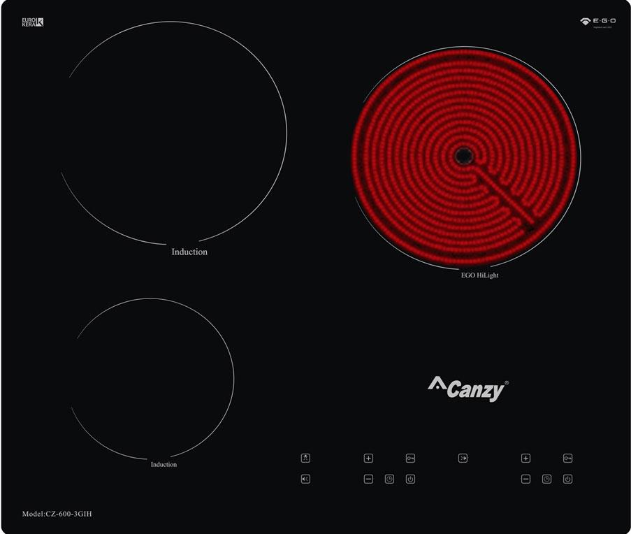 Bếp Điện Từ Canzy CZ 600-3GIH