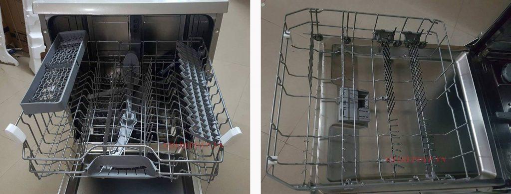 Các tầng Máy Rửa Bát Bosch SMS50E88EU