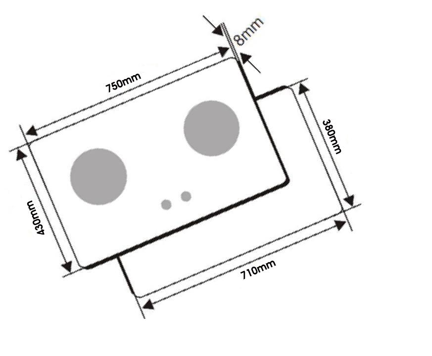 Bếp Gas Âm Texgio TG-008X