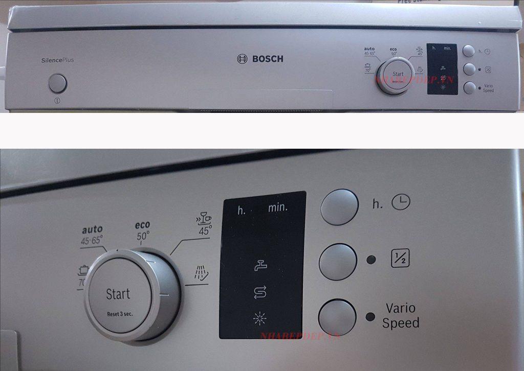 Bảng điều khiển Máy Rửa Bát Bosch SMS50E88EU