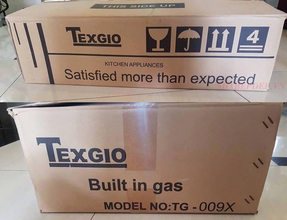 Vỏ ngoài Bếp Gas Âm Texgio TG-009x