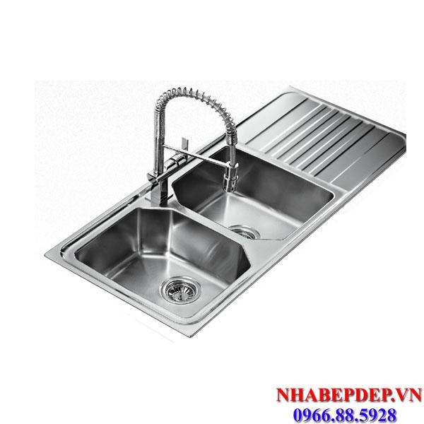 Chậu Rửa Bát Teka PREMIUM 2B 1D