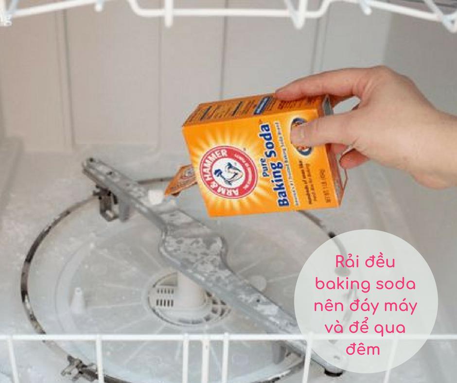 Baking soda hiệu quả trong việc làm sạch và khử mùi