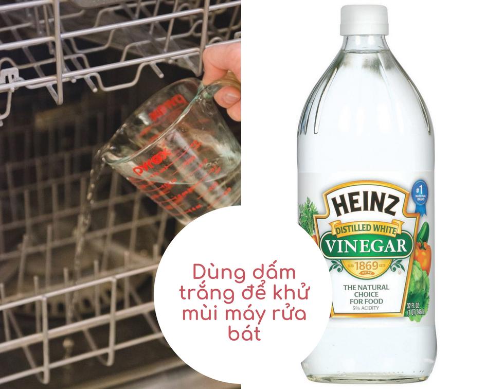 Dấm trắng là chất tẩy rửa tự nhiên an toàn