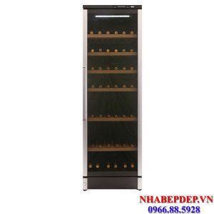 Tủ trữ rượu vang Vintec V160SGAL 132 chai