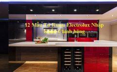 12 Mẫu Tủ Rượu Electrolux Nhập Khẩu Chính Hãng