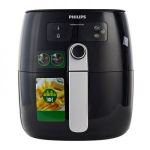 Nồi Chiên Không Dầu Điện Tử Philips HD9643 – Đen (0.8kg) – Hàng Chính Hãng