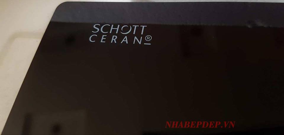 mặt kính Schott Ceran nhập khẩu nguyên khối Đức