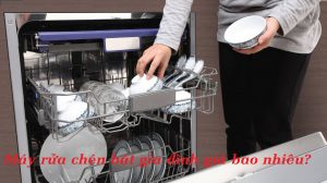 Máy rửa chén giá bao nhiêu