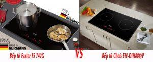 So sánh bếp 742g với 888p