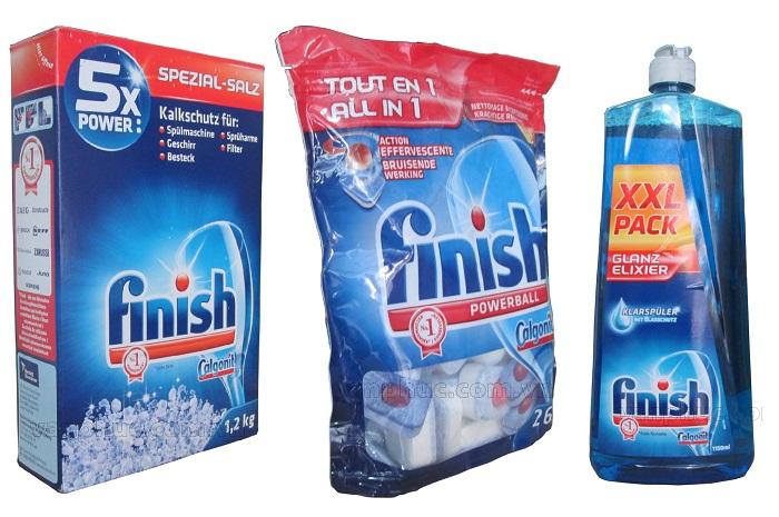 Bộ chất tẩy rửa Finish