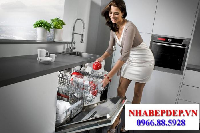Sự tiện lợi của máy rửa bát gia đình