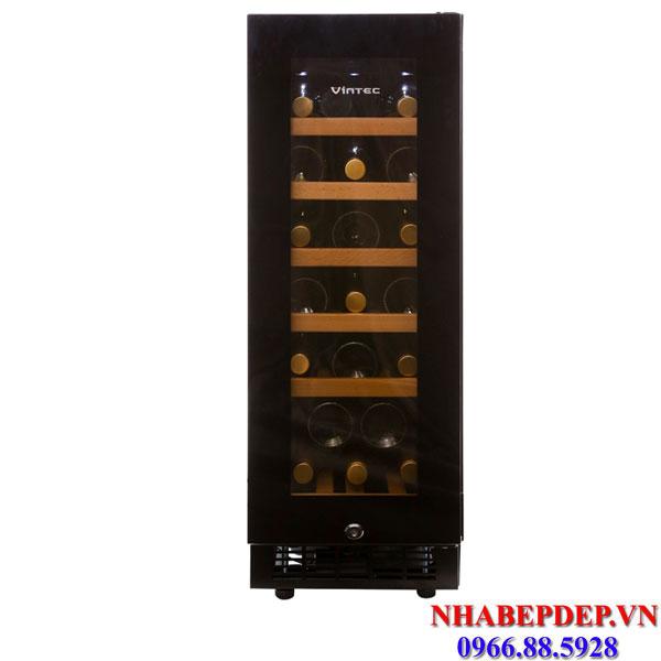 Tủ trữ rượu vang Electrolux Vintec V20SGEBK 20 chai